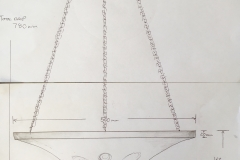 Design Drawing for plaster shades Coco Channel Suite