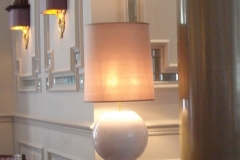 Frank style Table light Piccadilly for David Collins