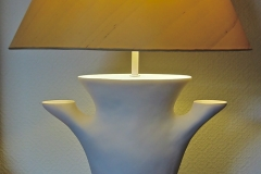 """Syrie"" Plaster Table Lamp"