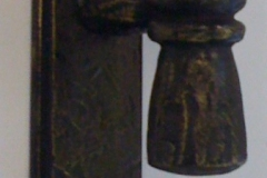 Bronze Giacometti Dor Handle