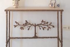 Giacometti Arbre Style Console Table