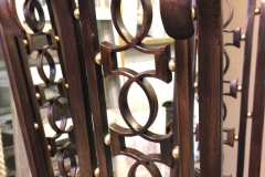 Detail of Bronze table Private commission London