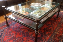 Bronze two Tier Coffee Table
