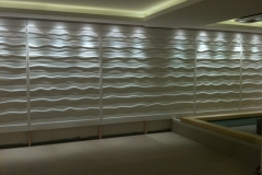 Plaster Wave Wall Panels