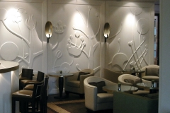 Plaster Wall Panels Wentworth Golf Club