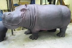 Life size Hippo