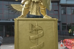 Games Workshop Statue and Wing Emblem