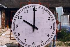 Millenium Clock Construction